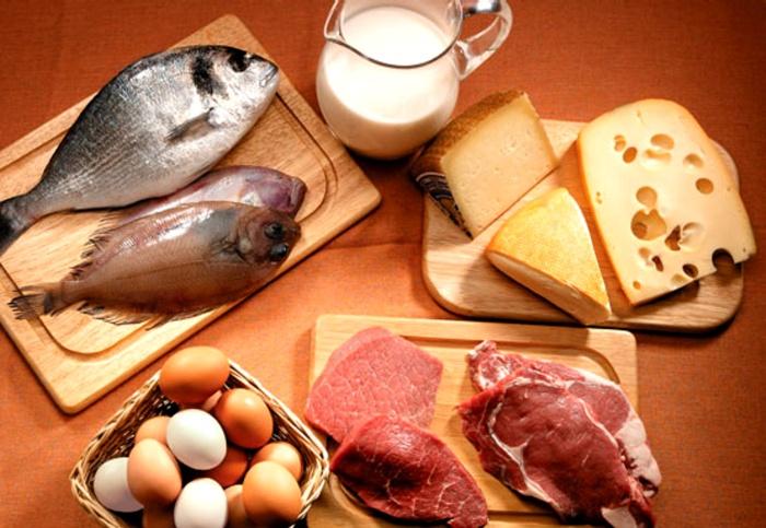 Consumo de proteínas